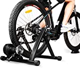 INTEY Bike Trainer Stand Magnetic Bicycle Indoor Exercise Training, 6 Levels Resistance Stationary Cycling Trainer