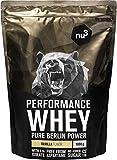 nu3 Whey protéines performance - 1kg vanille - Shake pour prise de masse...