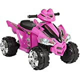 Best Choice Products Kids 12V Electric 4-Wheeler Ride On w/ 2 Speeds, LED Lights, and Sounds, Pink