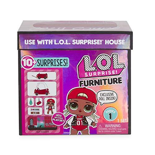 Image 3 - MGA- Meubles L.O.L Cozy Coupe avec poupée M.C. Swag et 10+ Surprises Toy, 564096E7C, Multicolore