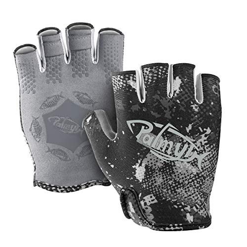 2. Palmyth Stubby UV Kayaking & Fishing Gloves