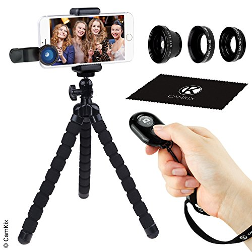 Juego de Fotografia Telefono Inteligente - Tripode Flexible para...