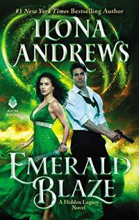 Emerald Blaze by Ilona Andrews book cover