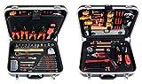 Projahn 8683 - Maletín de herramientas para electricista (128 piezas)