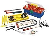 Laubsäge-Set mit hochwertigen Stahlwerkzeugen für Hobby und Schule mit 35 Teilen