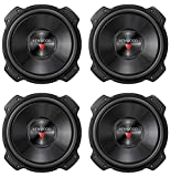 Kenwood 4 New KFC-W3016PS 12' 1600W RMS Car Audio Subwoofers Subs Woofers 4 Ohm