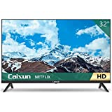 Caixun EC32S2N, 32 inch HD HDR Smart TV with Screencast Built-in, Screen Share, HDMI, USB (2021 Model)