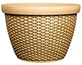 Classic Home and Garden 2014CP2D-587R 14' Jake Set of 2 Planter, Basket, Straw