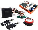 Moto Alarme Compact Système 12V 12 Volts avec Télécommande - Universel pour Moto Scooter Quad...