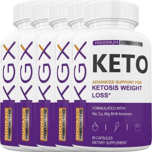 KGX Keto - Burn Fat for Energy Not Carbs - Boost BHB Ketosis Ketones - Burn Stubborn Fat - Increase Energy & Focus Supplement (5 Month Supply) 1