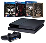 Contenu : Console PlayStation 4 500 Go + Batman Arkham Knight + Comics Assassin's Creed : Syndicate + Steelbook exclusif Amazon Metal Gear Solid V : The Phantom Pain