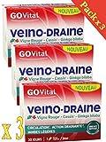 GOVITAL - VEINO-DRAINE - Circulation, action drainante, jambes...