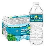 Zephyrhills 100% Natural Spring Water, 16.9oz (24 Pack)