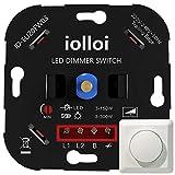 iolloi-Variateur d'intensité LED rotatif de 3-300 W, Variateur rotatif...