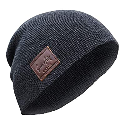 GET COMPLIMENTS- from friends, family and random strangers in this dark gray beanie hat! Set a fashion statement and stay warm in this clean yet stylish beanie hat. SWEET FIT- one size will fit men or women. This skull cap will stretch and fit snugly...