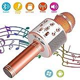 SunTop Microphone Bluetooth Sans Fil, Karaoke Sans Fil, Karaoké Micro...