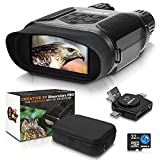 CREATIVE XP Digital Night Vision Binoculars for Complete Darkness - Infrared Night Vision Goggles for Adults - Hunting, Spy, Military, Tactical, Security