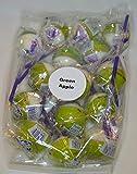 Linda's Lollies 15 Green Apple Gourmet Lollipops - - Nut, Gluten & Dairy Free - No Fat