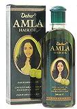 Dabur Amla Huile pour Cheveux Lisses/Long 200 ml - Lot de 3