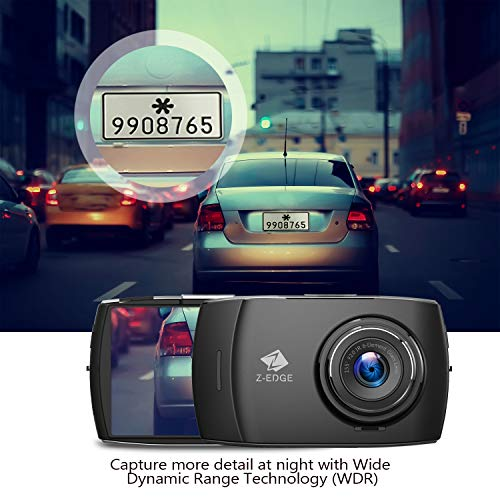 Product Image 7: Z-Edge Dash Cam Front and Rear 4.0″ Touch Screen Dual Dash Cam FHD 1080P with Night Mode, 32GB Card Included,155 Degree Wide Angle, WDR, G-Sensor, Loop Recording, Support 256GB Max