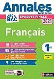 Annales ABC du Bac 2021 Français 1re