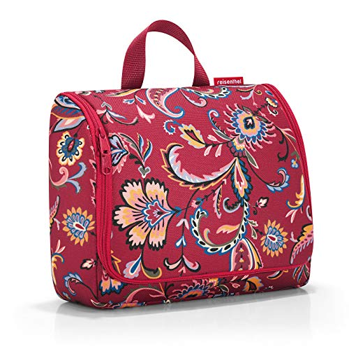 Reisenthel Toiletbag XL Kosmetikkoffer, 59 cm, 4 L, Paisley Ruby