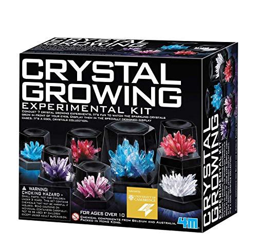 4M 5557 Crystal Growing Science Experimental Kit - 7 Crystal...