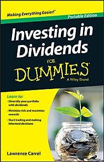Livro Investing In Dividends For Dummies para quem quer aprofundar conhecimento sobre ações