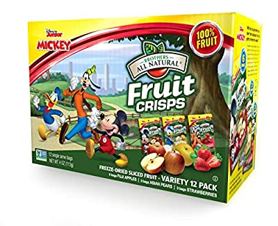 FINEST FRUIT - We start with fresh fruit, straight from the best growing regions of the world ALL NATURAL - 100% Freeze Dried Apples, Pears, Strawberries, and Bananas FITS YOUR LIFESTYLE - Non-GMO/Vegan/Kosher/Gluten Free/Peanut and Tree Nut Free HEA...
