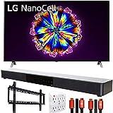LG 86NANO90UNA 86' Nano 9 Series 4K Smart UHD NanoCell TV with AI ThinQ (2020 Model) with Deco Gear...