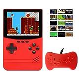 Consola de Juego de Mano Porttil, TAOPE Retro Mini Jugador de Juego con 500 Juegos Clsicos 3.5' Pantalla a Color Soporte para Conectar TV y Dos Jugadores 5000mAh Recargable para Nios-Adultos-Amigos