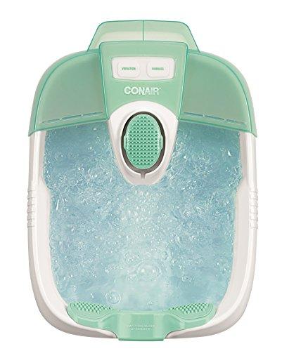 Conair Foot Spa/Pedicure Spa with Massage Bubbles ~ Includes 3 Attachments