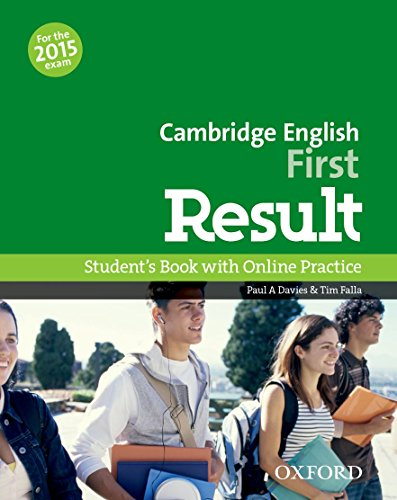 Cambridge English: First Result: First Result Student's Book Online Practice Test Exam Pack 2015 Edi