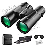 Eyeskey Compact 10X42 Binoculars for Adults | Professional Waterproof Fog-Proof Binocular for Bird Watching | Easy Focus | Twiligght Vision | Bright Clear Stable Image