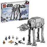 LEGO Star Wars AT-AT- Jeu de construction d'un superbe marcheur de la bataille de Hoth, incluant le personnage de Luke Skywalker, 1 267 pièces, 75288