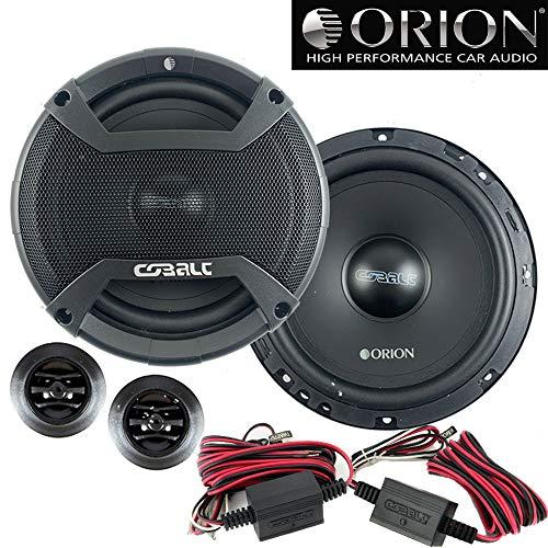 Orion CO652C New 2019 Model 6.5' 2-Way 500 Watt 4ohm Cobalt Series Car Audio Component Speaker system