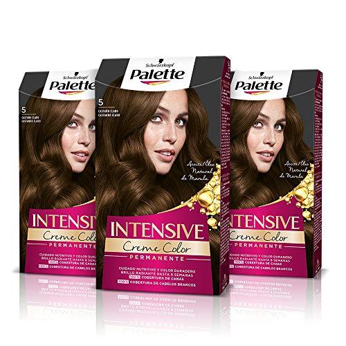 Schwarzkopf Palette Intensive - Tinte 5 cabello Castaño Cla