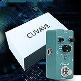 RONSHIN Electronique pour Pédale d'effet DIG Reverb Guitar avec 9 Types de réverbération True Bypass Effects Stompbox Processeur Audio numérique pour Guitare électrique