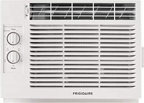 FRIGIDAIRE White FFRA051ZA1 17' Window Air Conditioner with 5000 BTU Cooling Capacity-115V