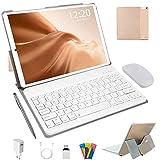 Tablette Tactile 10 Pouces 4G LTE, Android 10.0 64Go, 4Go de RAM Tablette PC 1,6...