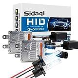 Sidaqi H7 80W HID Xénon Conversion Kit Blanc 6000K Remplacement Ampoule De...