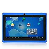 OUKU 7 Inch Android 4.2 Jelly Bean OS Tablet PC MID with 5-Point Capacitive Touchscreen, 512MB Ram, 4G Storage, Allwinner A23 Dual Core CPU, DDR3, 1.2GHz, Wi-Fi,Support 32GB, PC PAD Blue