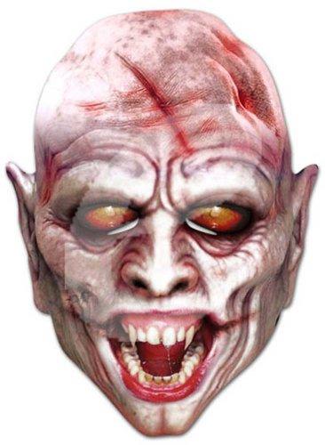 Vampire Horror Maschera Celebrità, Maschera di cartone, Cartone lucido di qualità con Fori per...