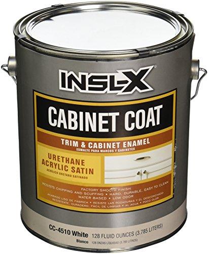 INSL-X PRODUCTS  CC4510092-01 Gallon Satin White Cab Enamel