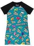 Minecraft Girls Nightdress Size 7