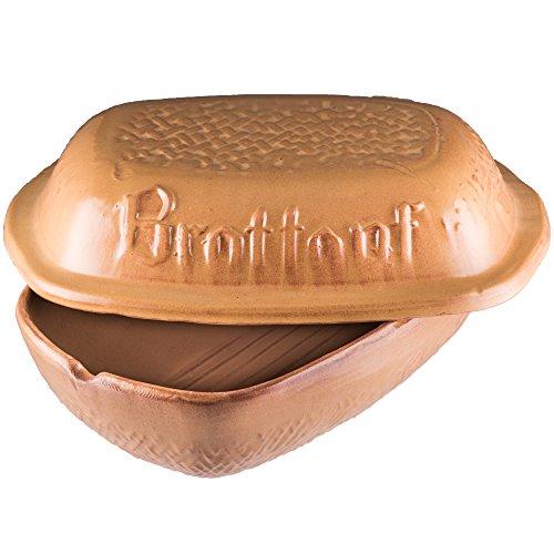 Style'n Cook Brottopf, Keramiktopf für Lebensmittel 32 x 22 x 18 cm