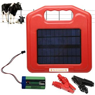 Solar Powered Fence Charger