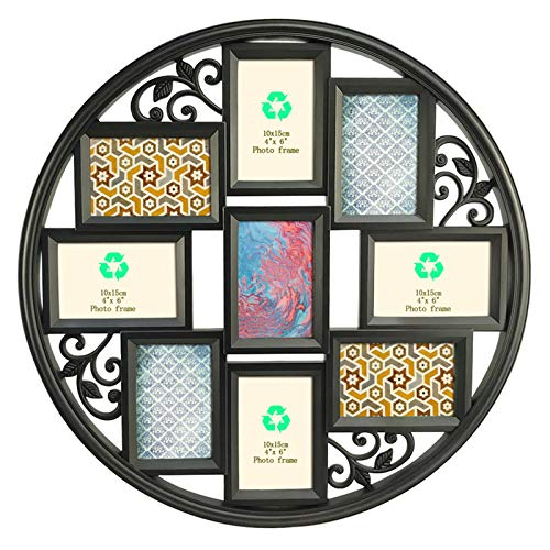 Giftgarden 4x6 Collage Picture Frame for Wall 9 Openings, Multi 4...