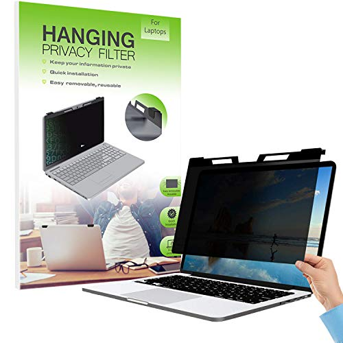 "FiiMoo Hängend 15.6 Zoll Premium Blickschutzfilter I Blickschutz Folie, Kompatibel mit Laptop 15.6""/ MacBook Pro 15.6\"" - Laptop Frame Hanging Type (355 x 218 mm)"