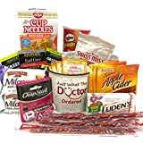Get Well Gift Package Sick Bundle Mug with Tea Emergen-C Apple Cider Hot Cocoa Ramen and Assorted Snacks Box
